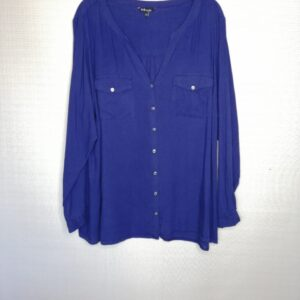 Paarse blouse